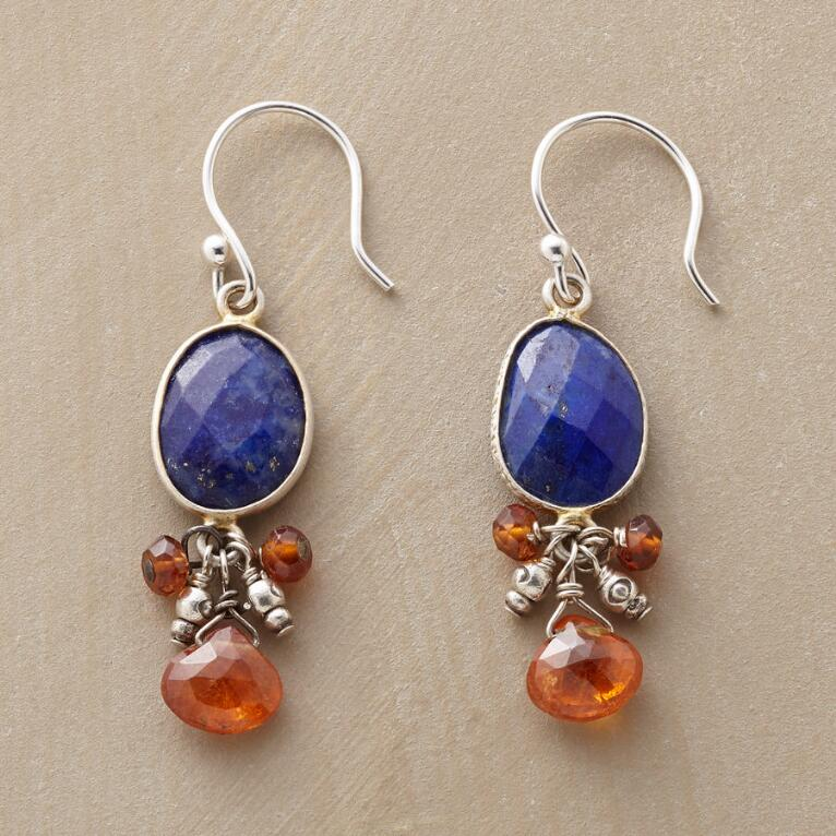LAPIS PENDULUM EARRINGS