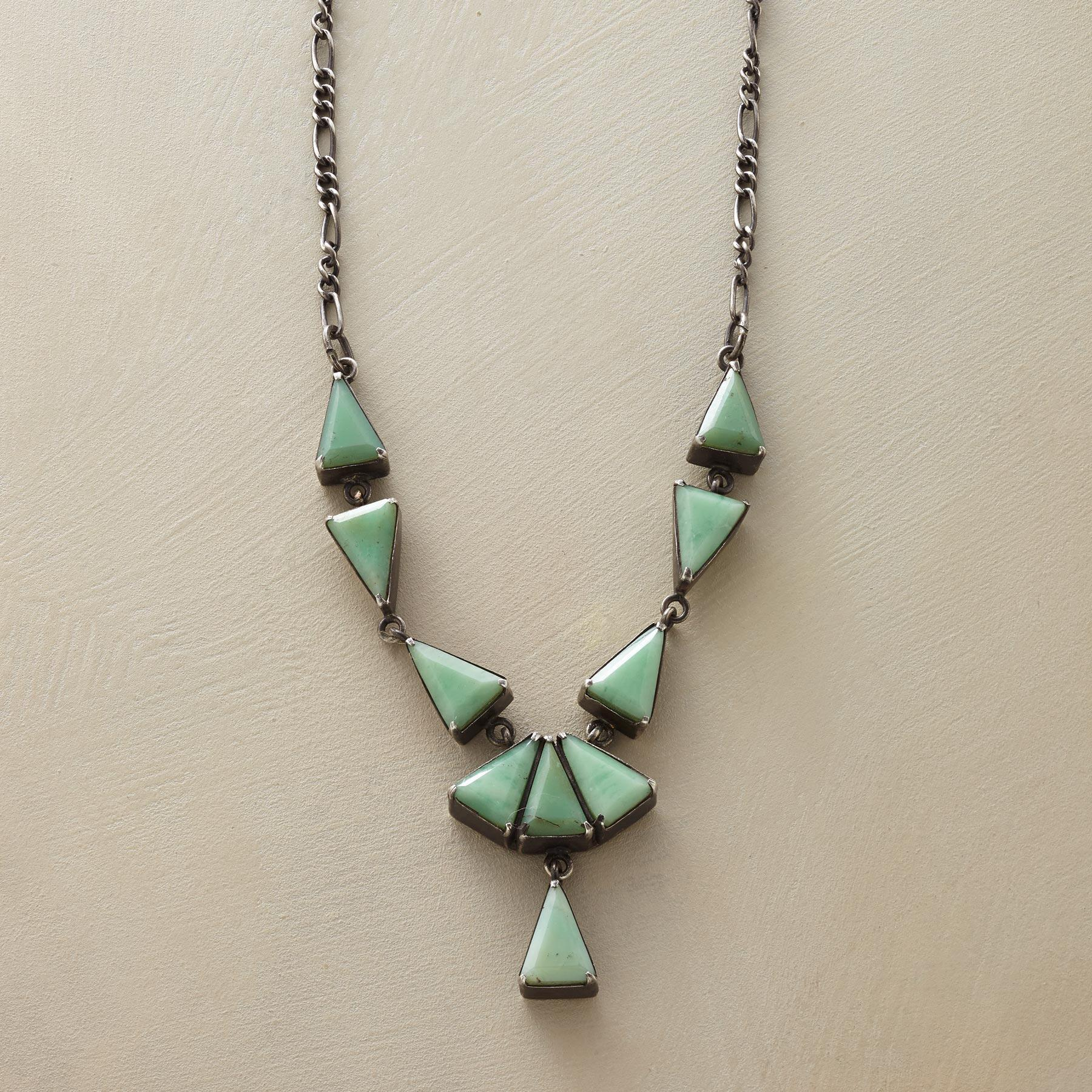 TRIANGULATIONS NECKLACE: View 1