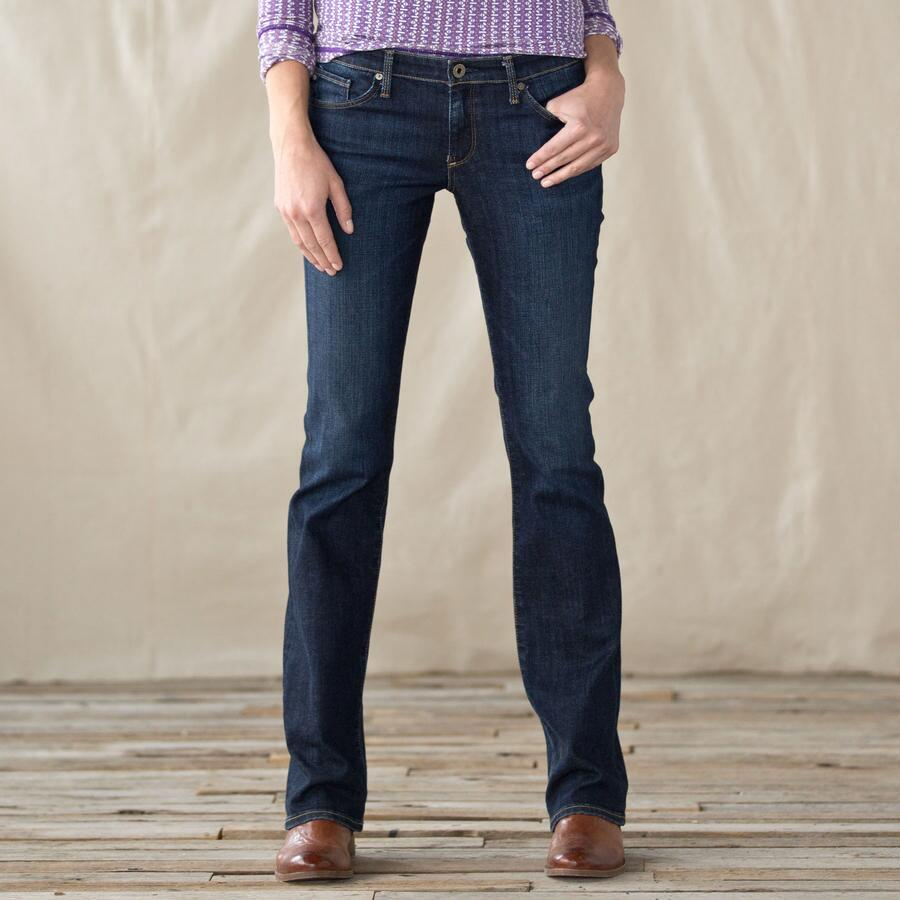 A G OLIVIA SKINNY BOOT JEANS