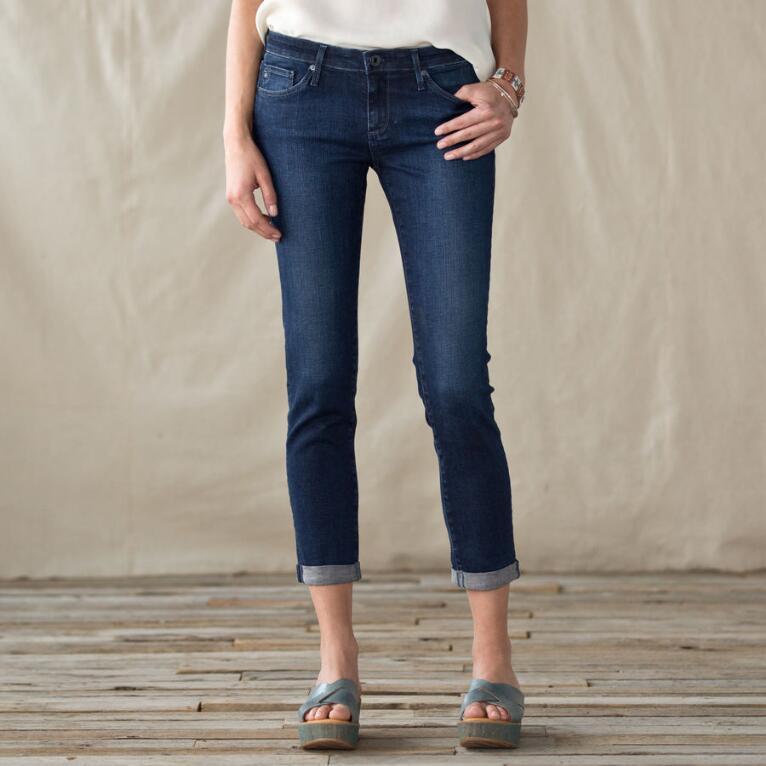AG Stilt Roller-Up Jeans