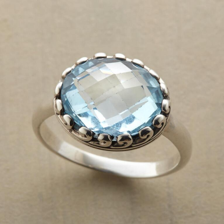 LAC LA BLUE TOPAZ RING