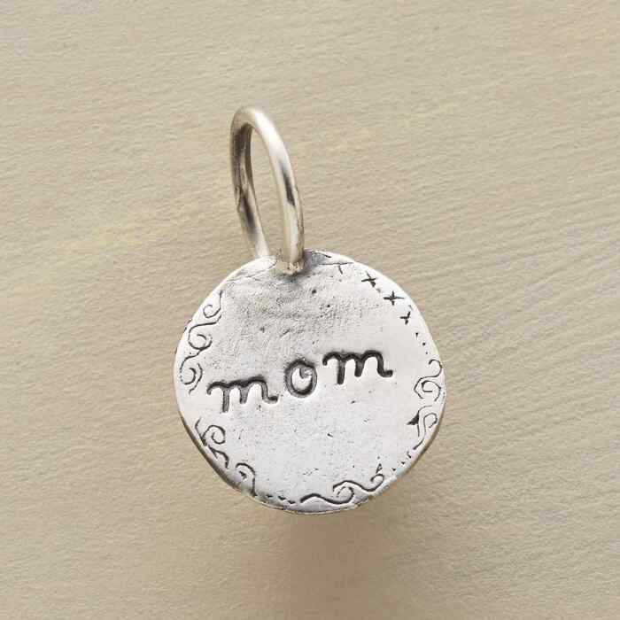 STERLING SILVER I LOVE YOU MOM CHARM