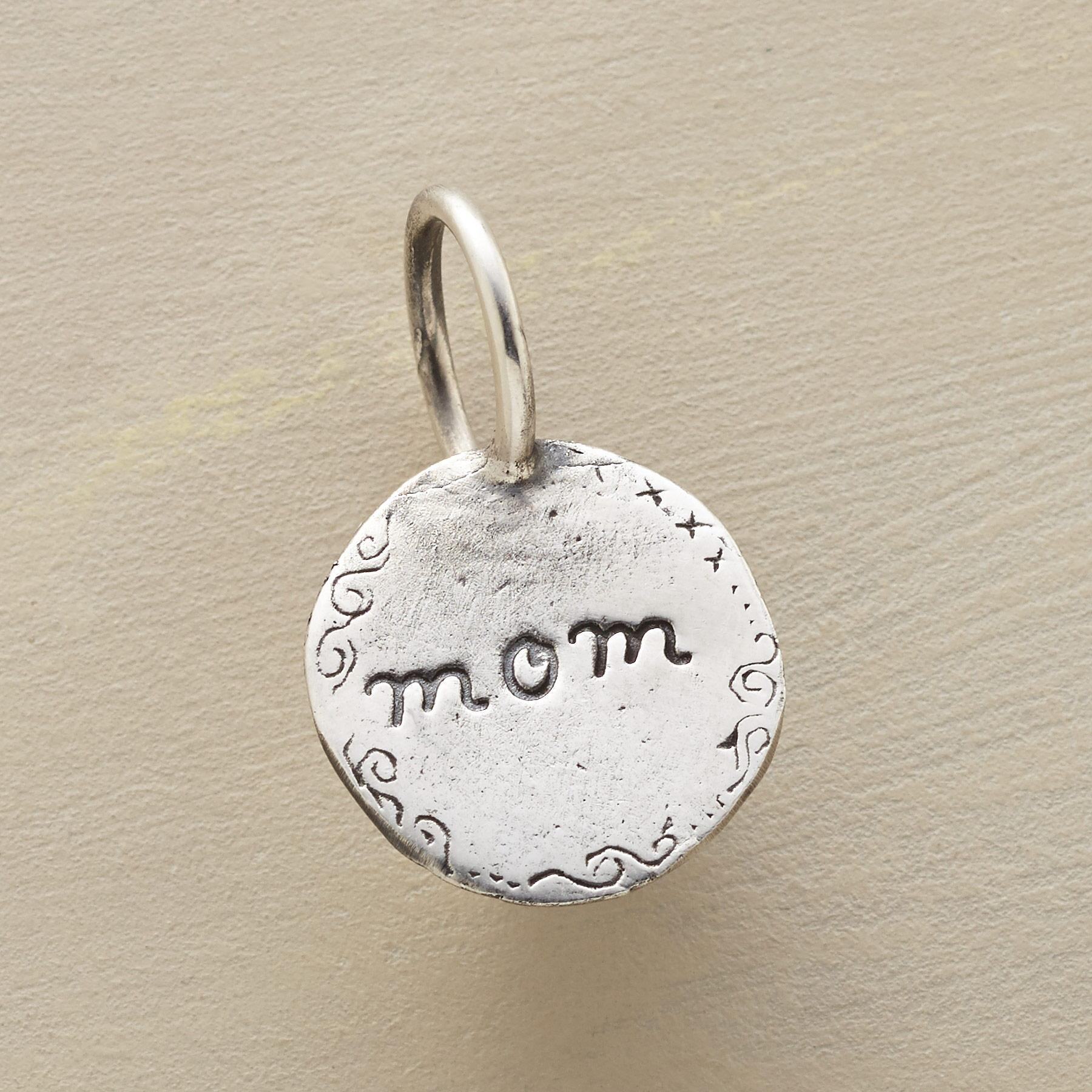 STERLING SILVER I LOVE YOU MOM CHARM: View 1