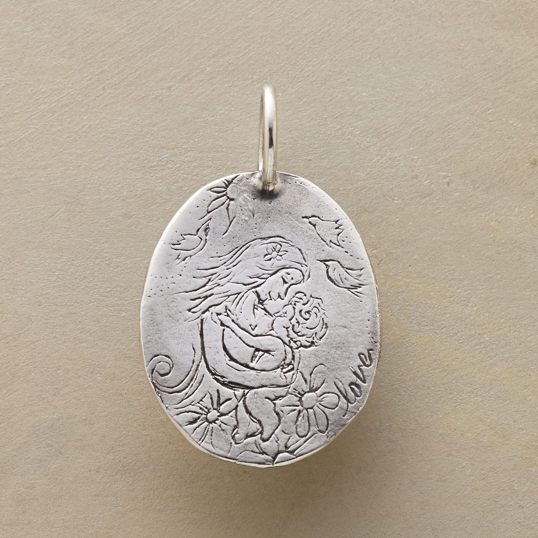 STERLING SILVER MOTHERHOOD CHARM: View 1