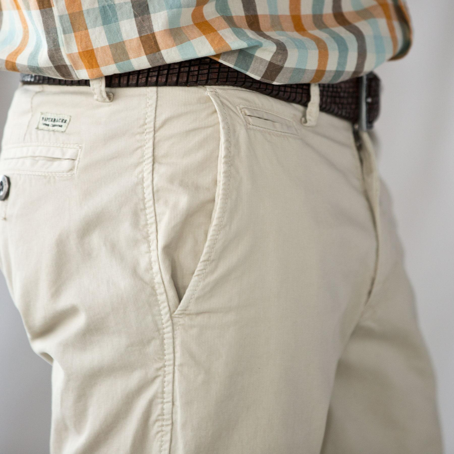 ANCHORAGE PINWALE CHINOS: View 3