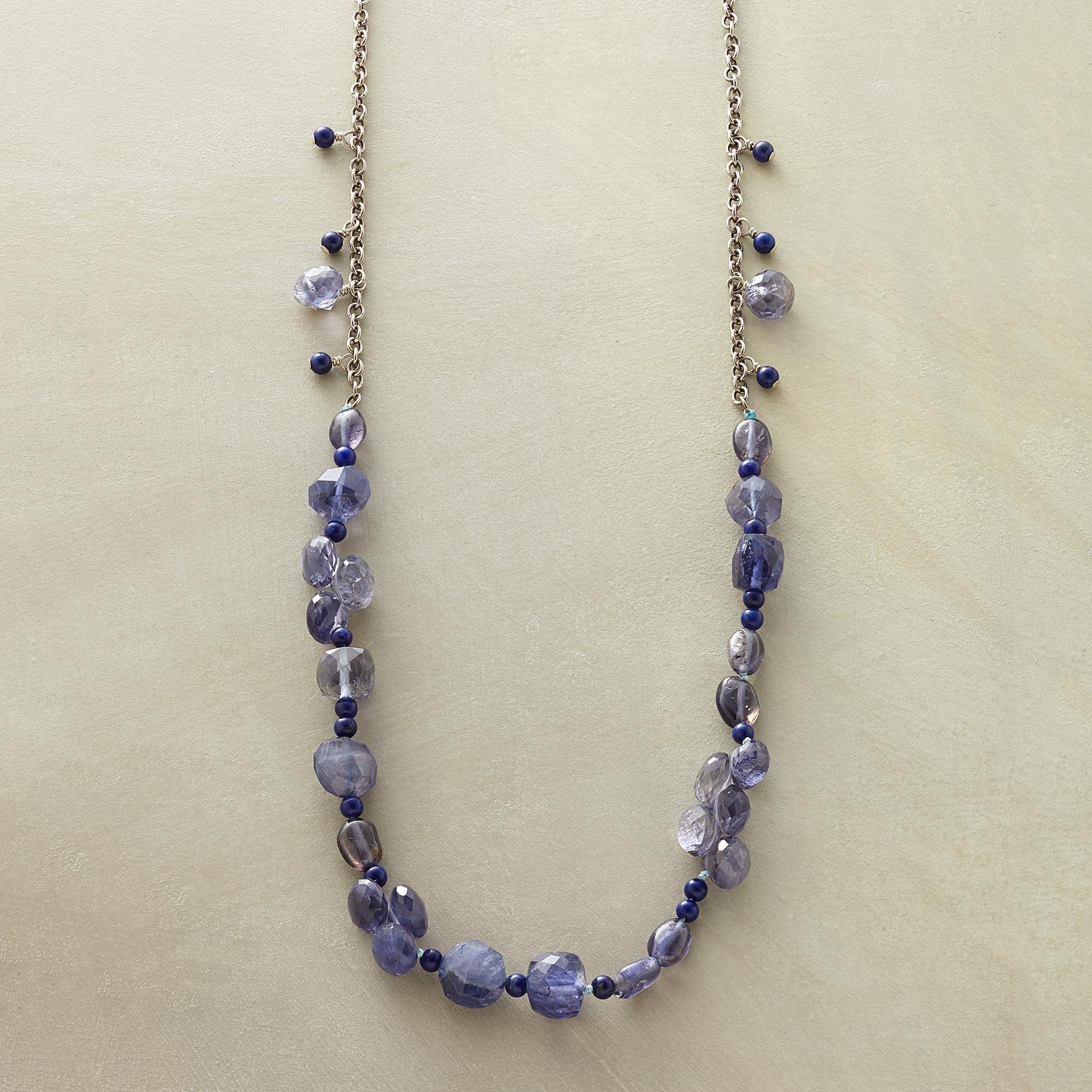 TWO BLUES NECKLACE: View 1