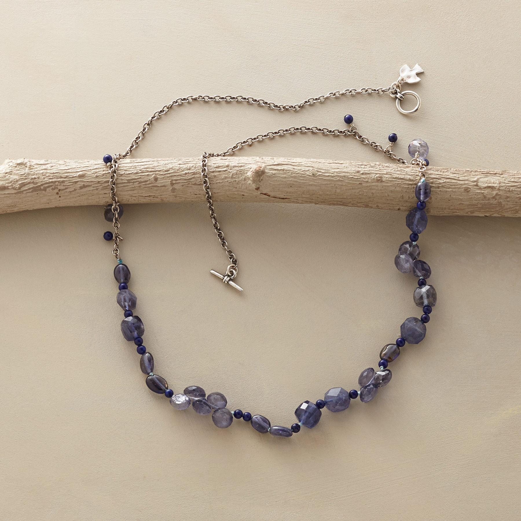 TWO BLUES NECKLACE: View 2