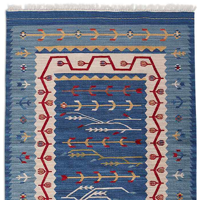 DAKOTA SKIES DHURRIE RUG