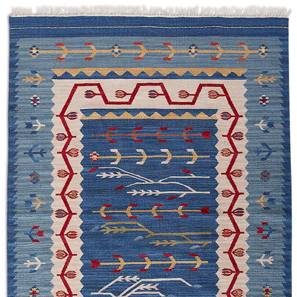 coloured lifestyle product earthy mahout dhurrie multi aztec rug