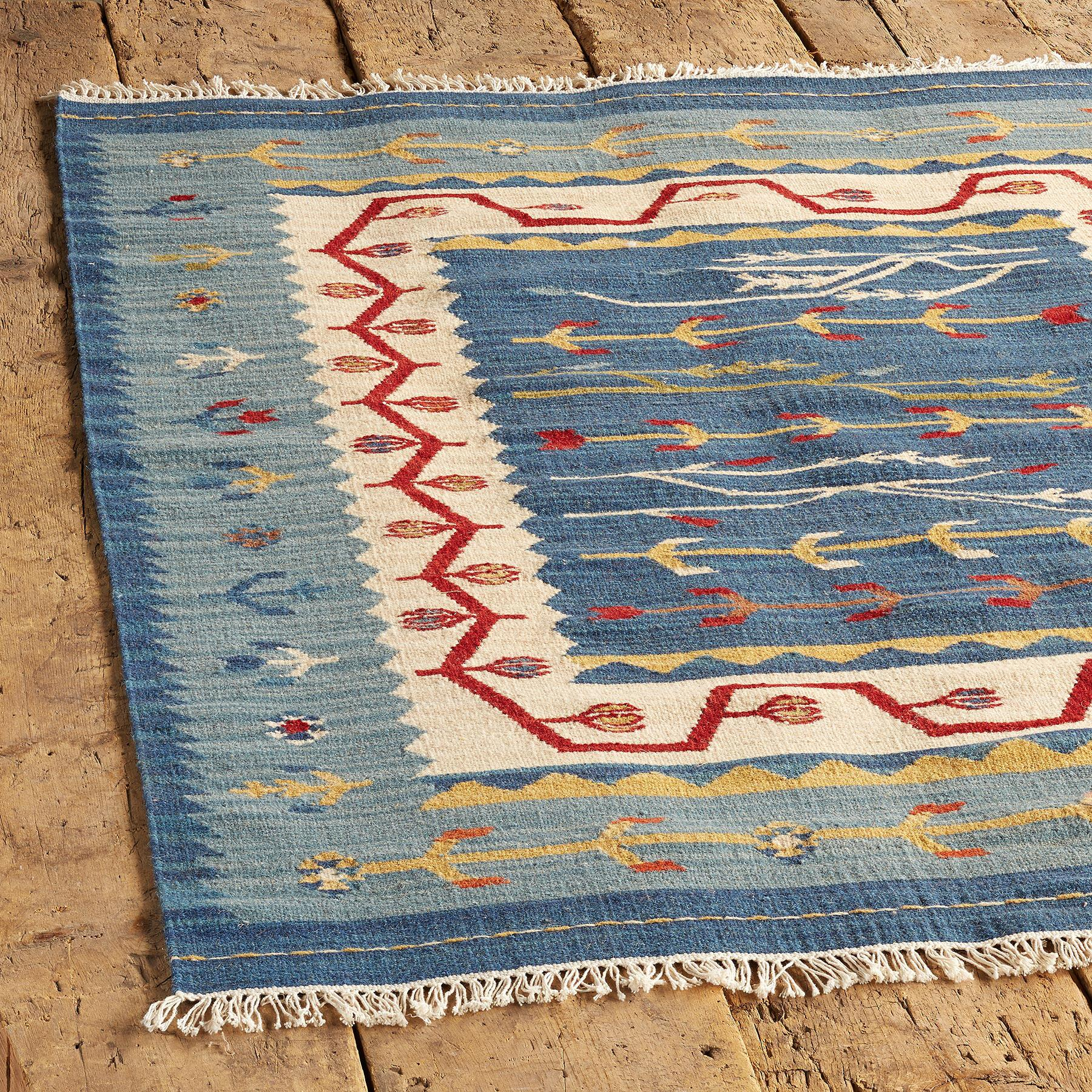 DAKOTA SKIES DHURRIE RUG: View 2