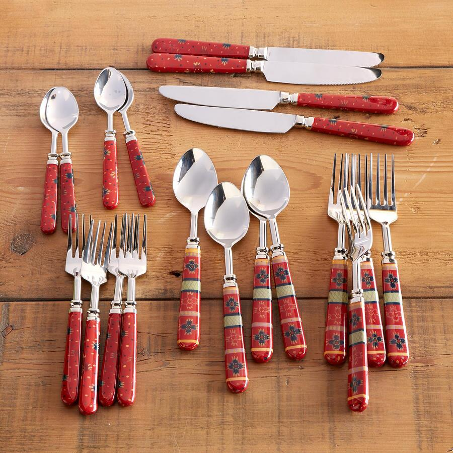 MARSALA FLATWARE, 20-PIECE SET