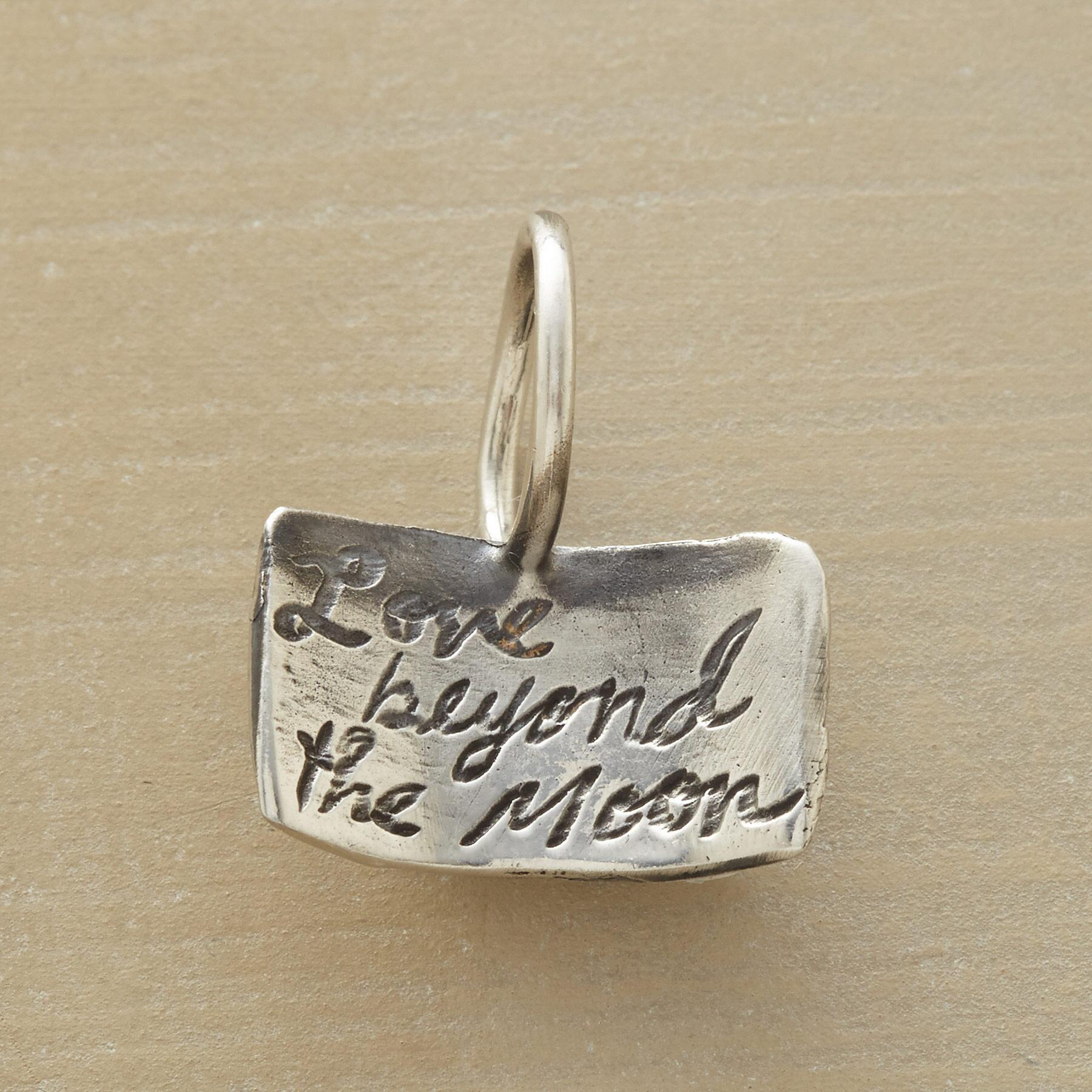 STERLING SILVER MOONDANCE CHARM: View 2