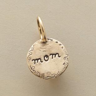GOLD I LOVE YOU MOM CHARM