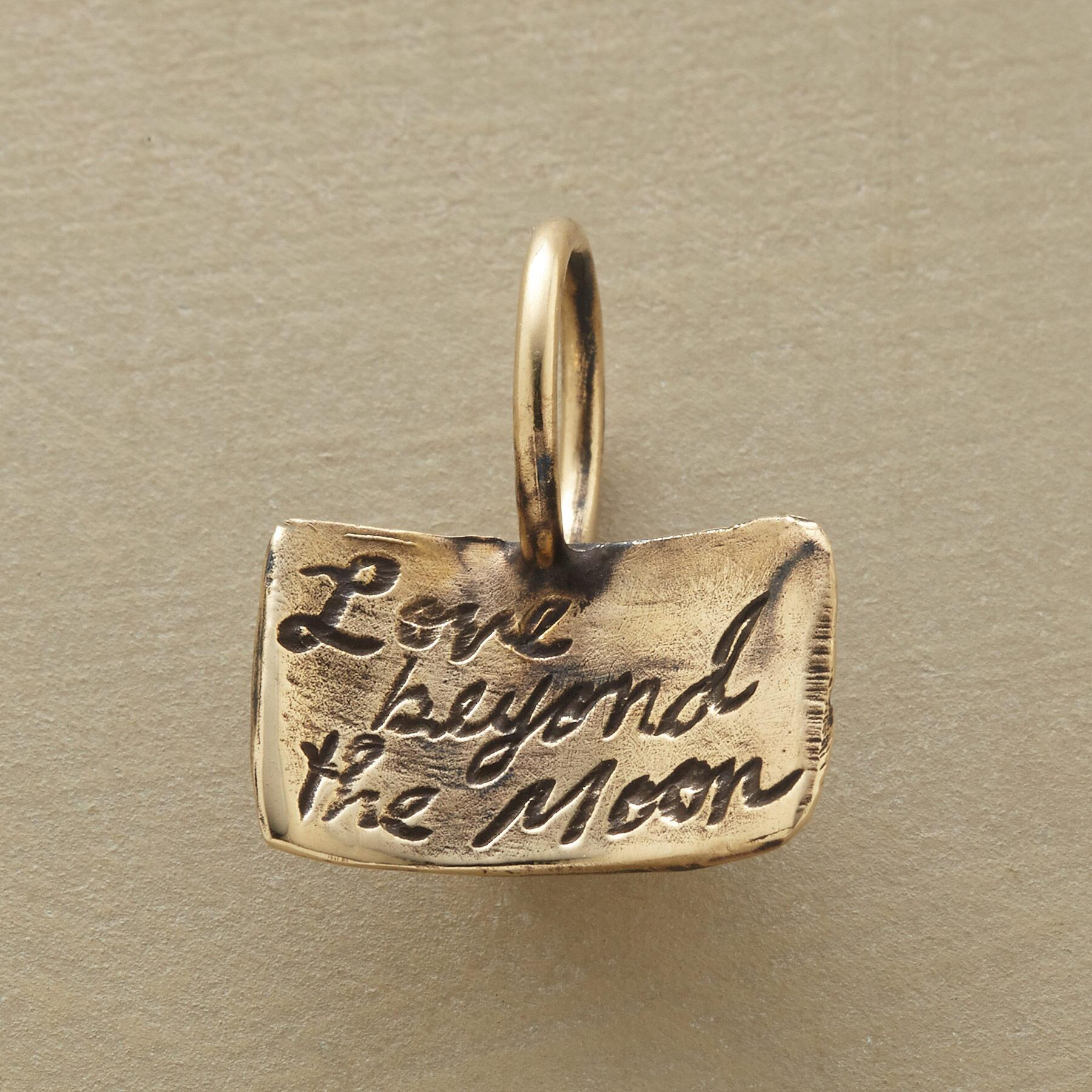 GOLD MOONDANCE CHARM: View 2