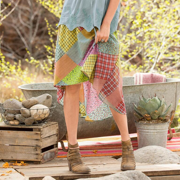 PATCHWORK JUBILEE SKIRT