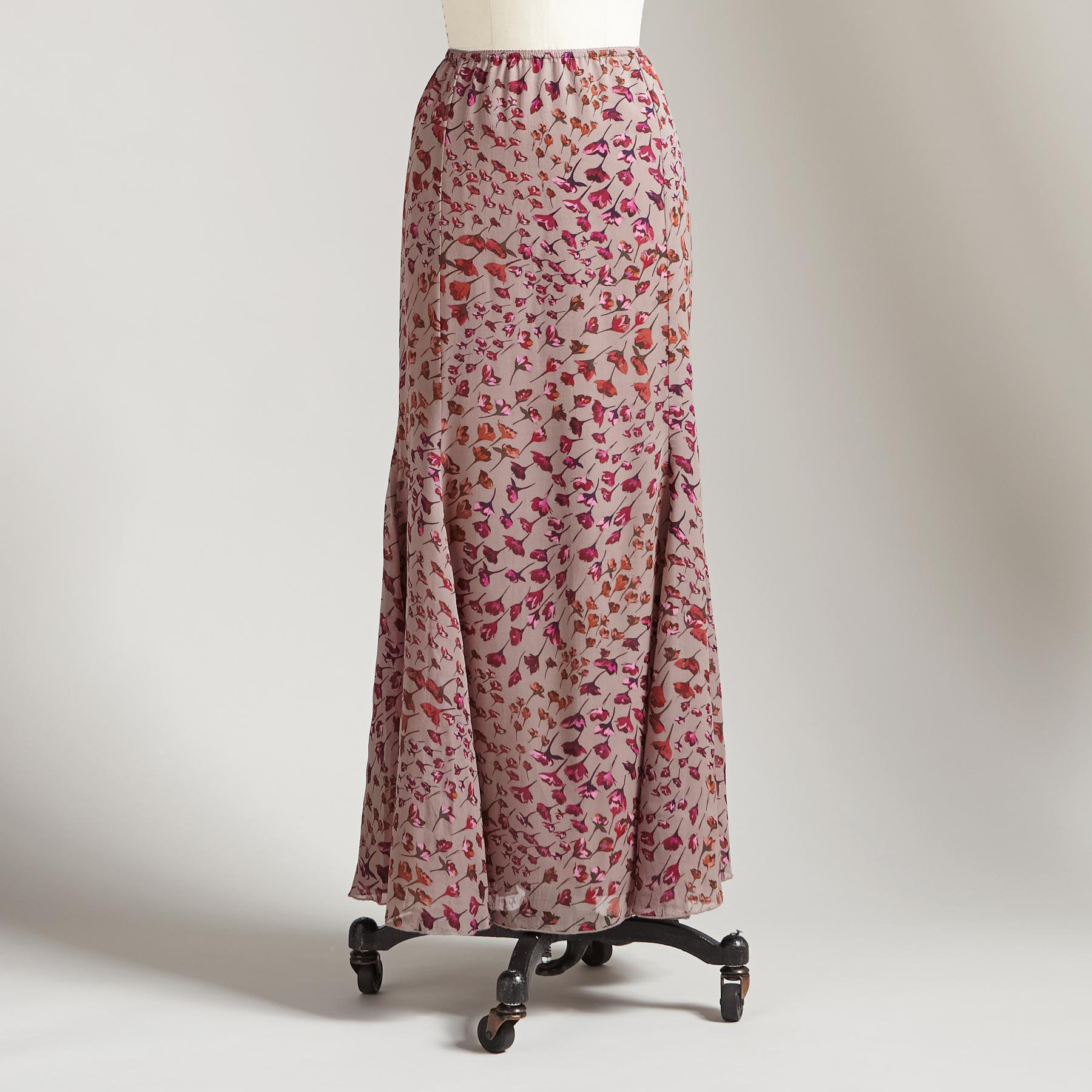 TRAILING BLOSSOMS SKIRT: View 2
