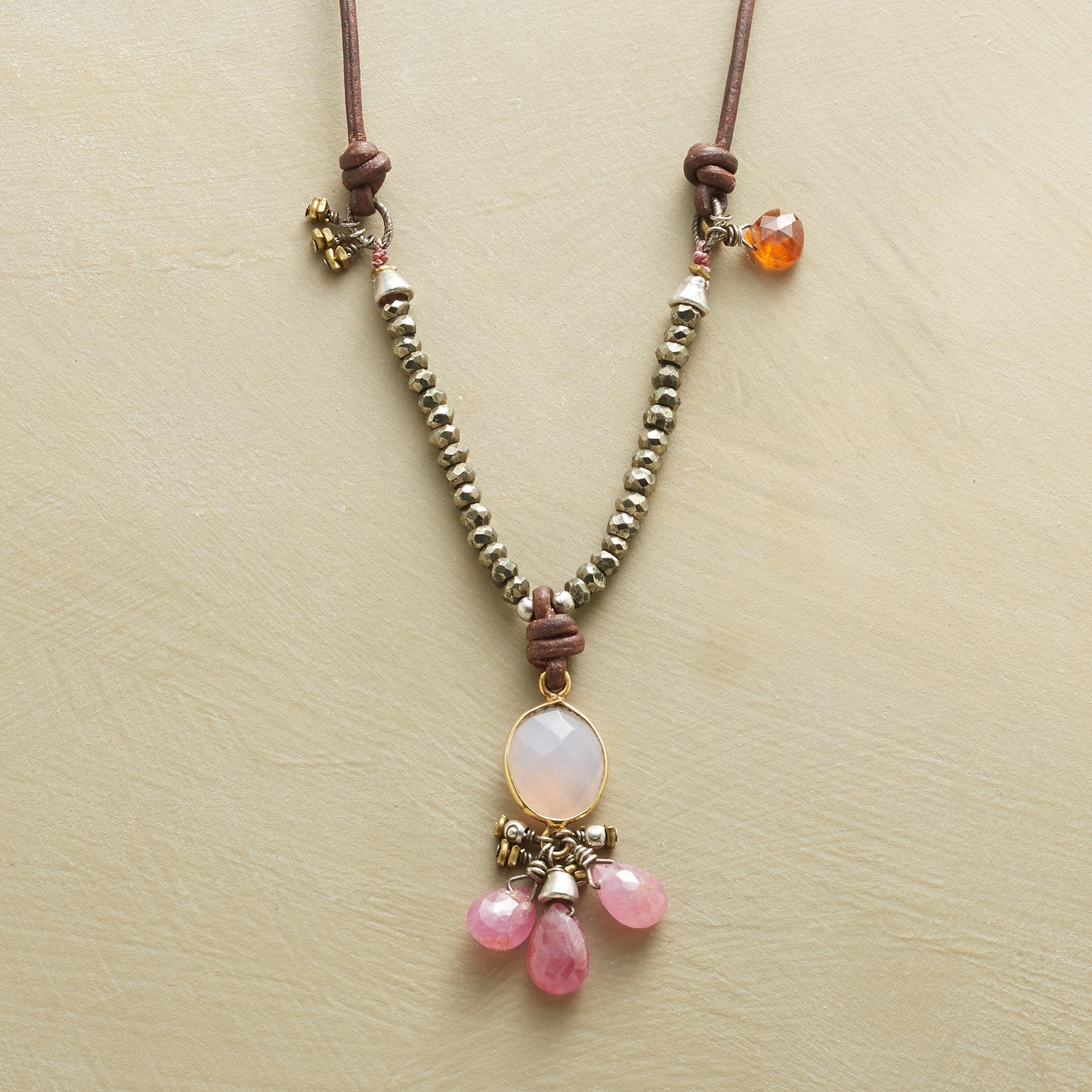 TICKLED PINK NECKLACE: View 1