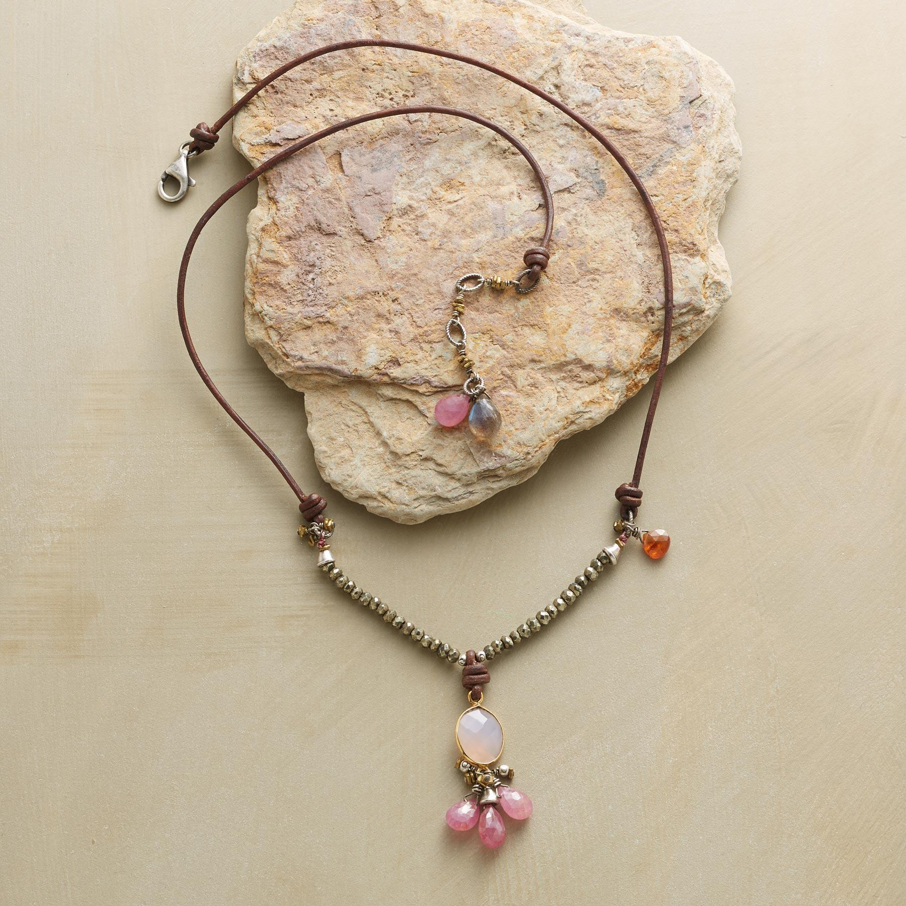 TICKLED PINK NECKLACE: View 2