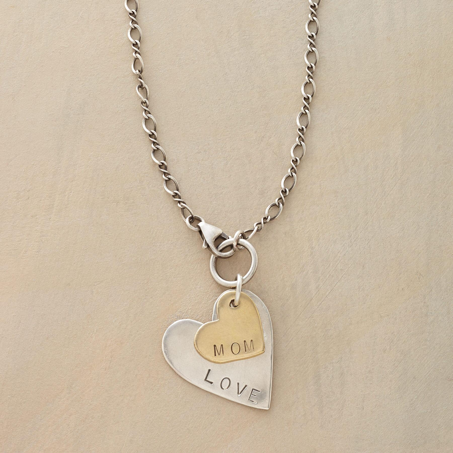 LOVE MOM NECKLACE: View 1