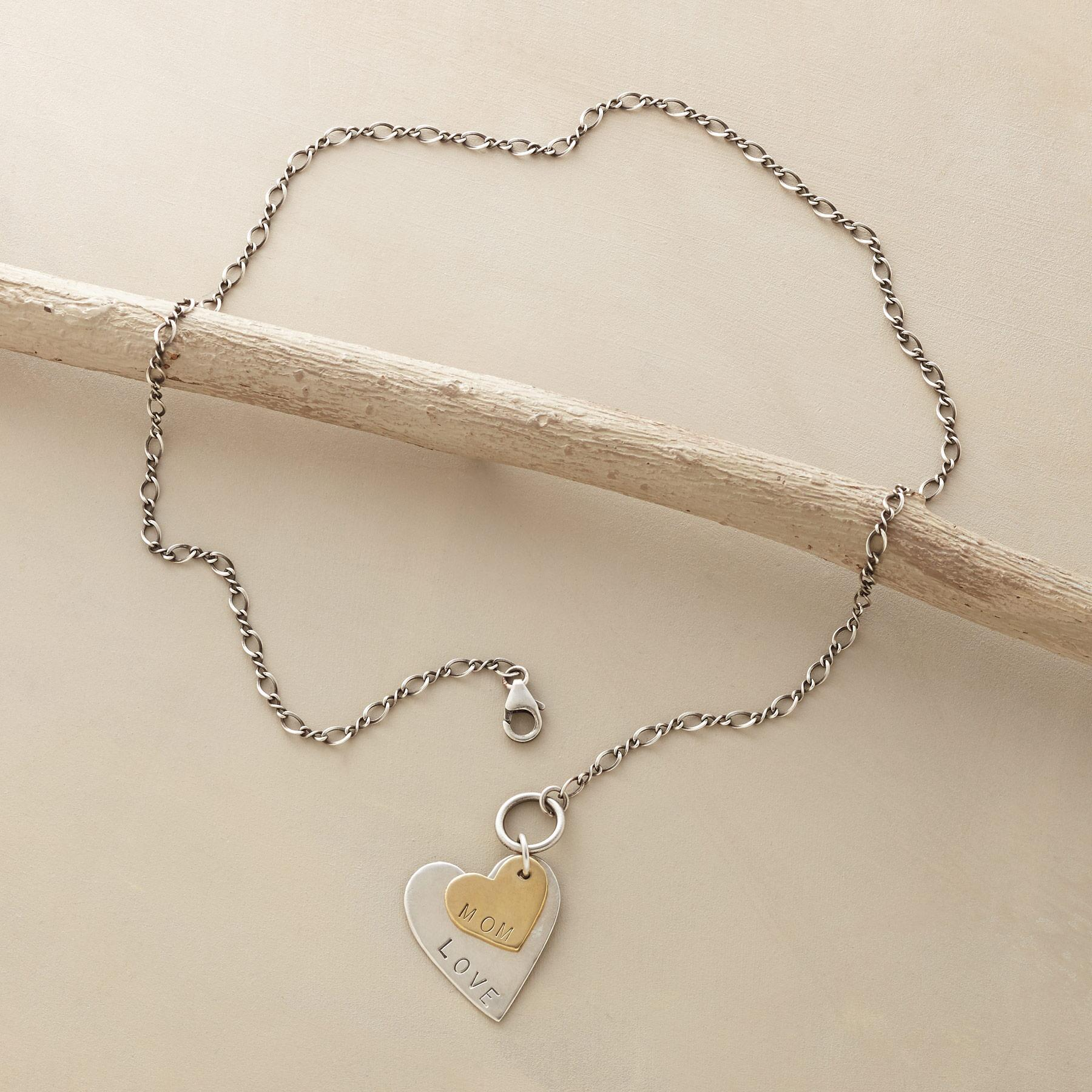 LOVE MOM NECKLACE: View 2