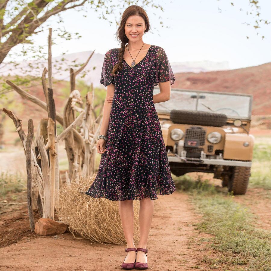 EMMELINE ROSEBUD DRESS