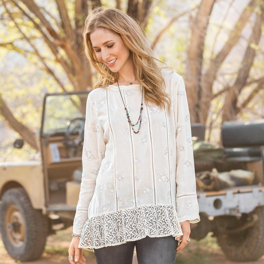 BEAUTY OF THE SOUL TUNIC PETITE