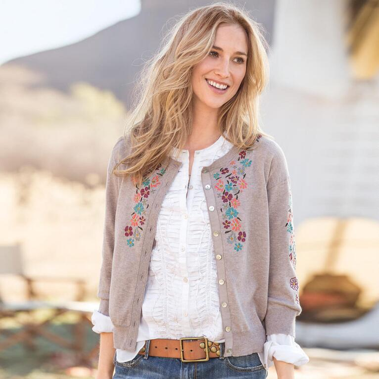 CADENCE OF FLOWERS CARDIGAN