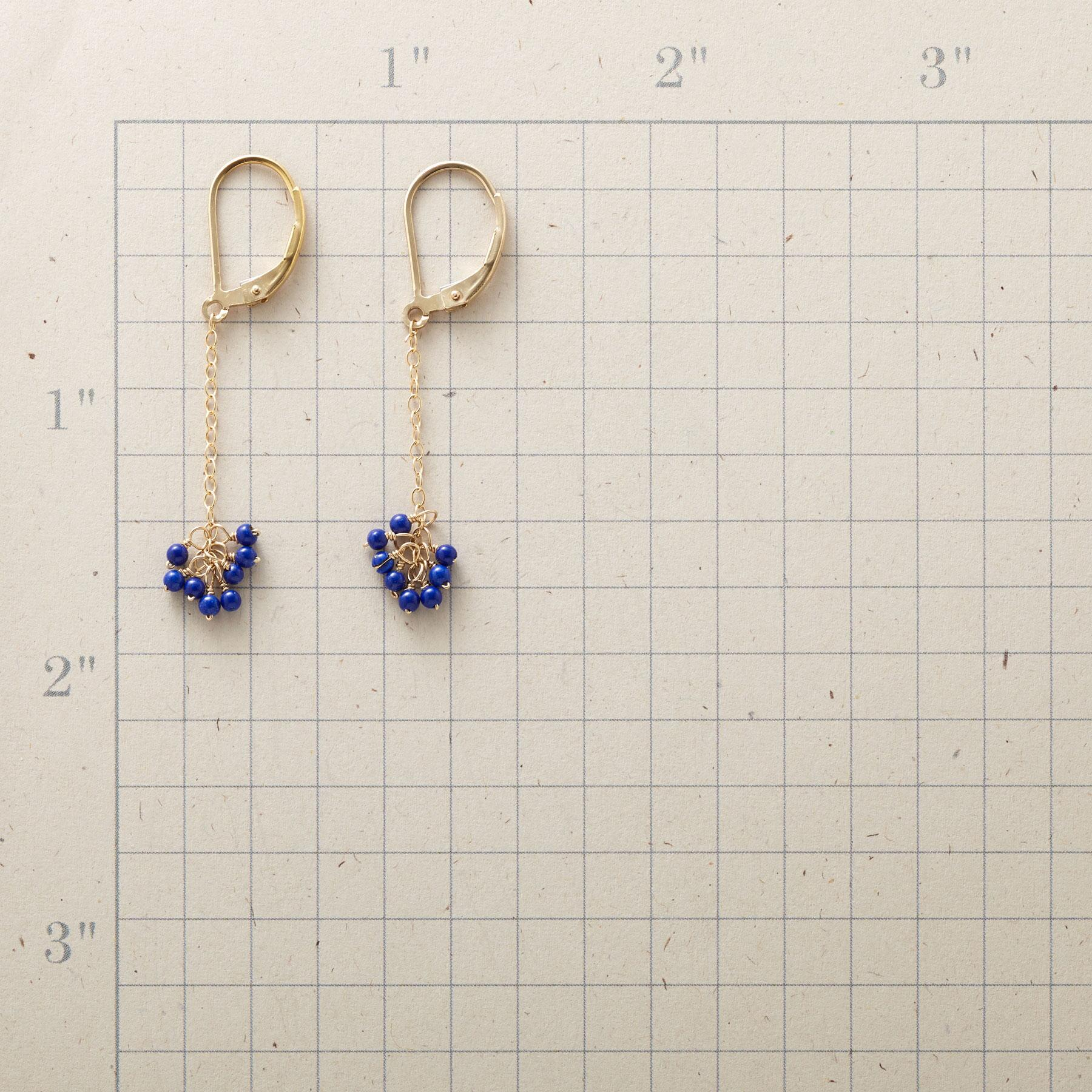 BLUE BELLE EARRINGS: View 2