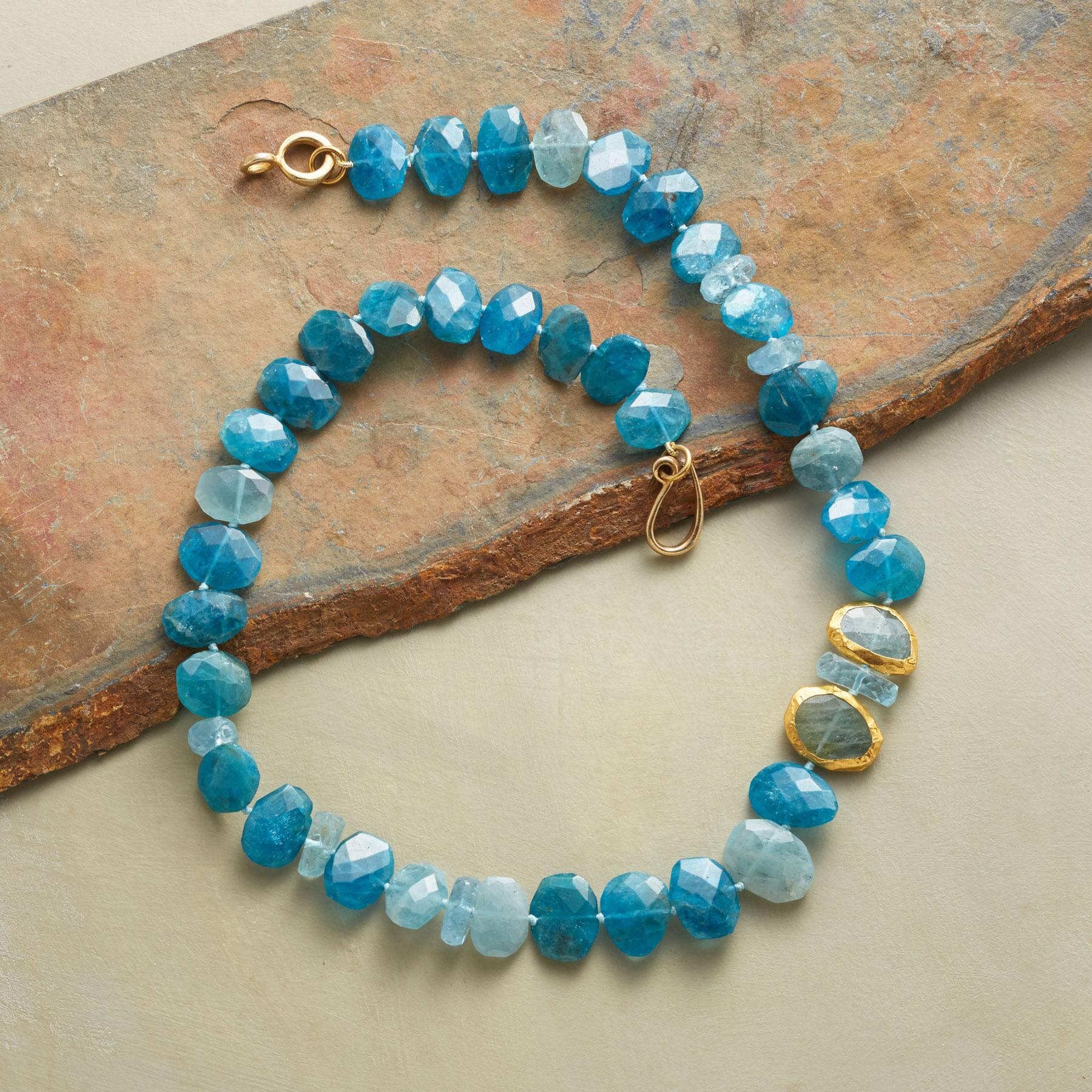DAYS OF BLUE NECKLACE: View 2