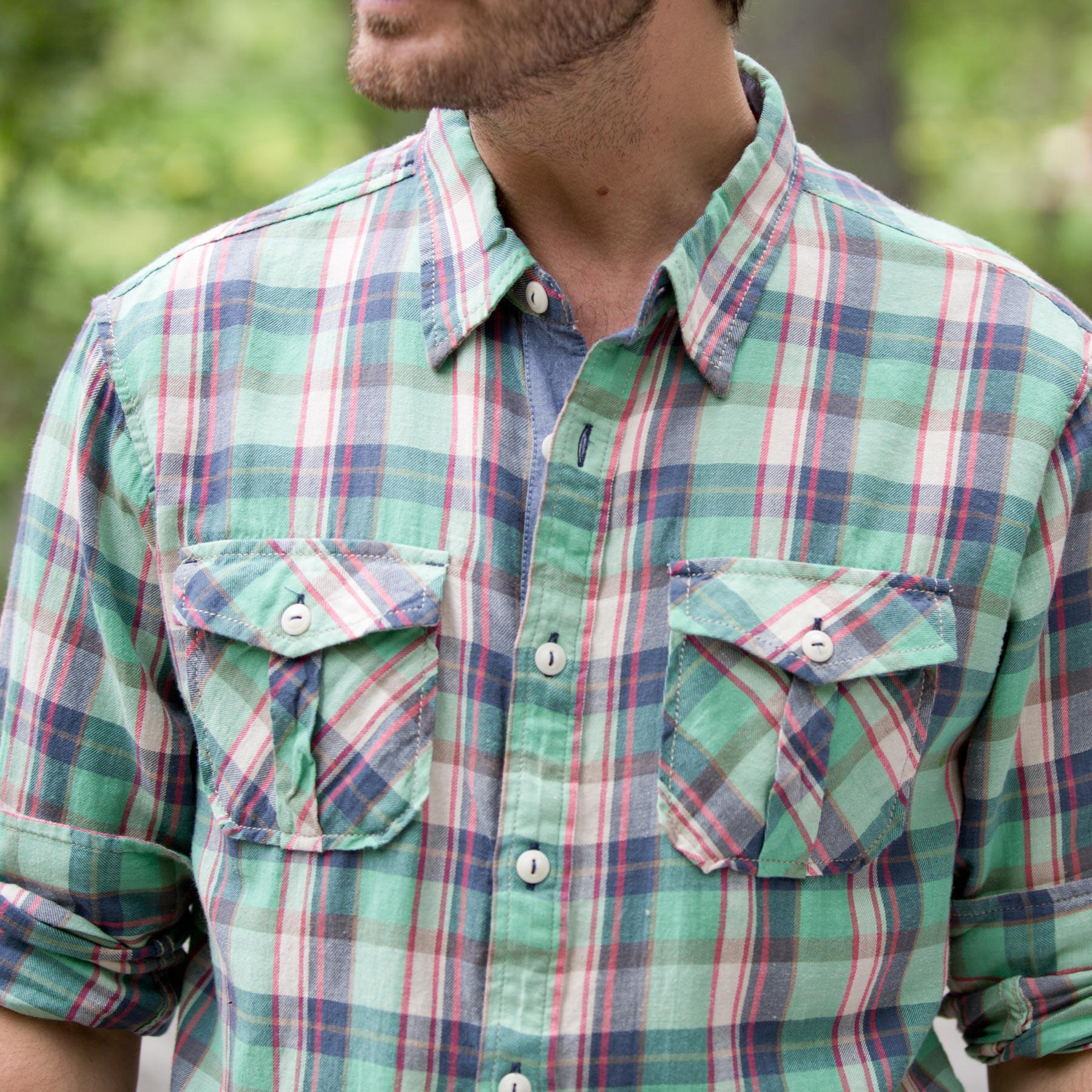 HARLEY FLANNEL SHIRT: View 2