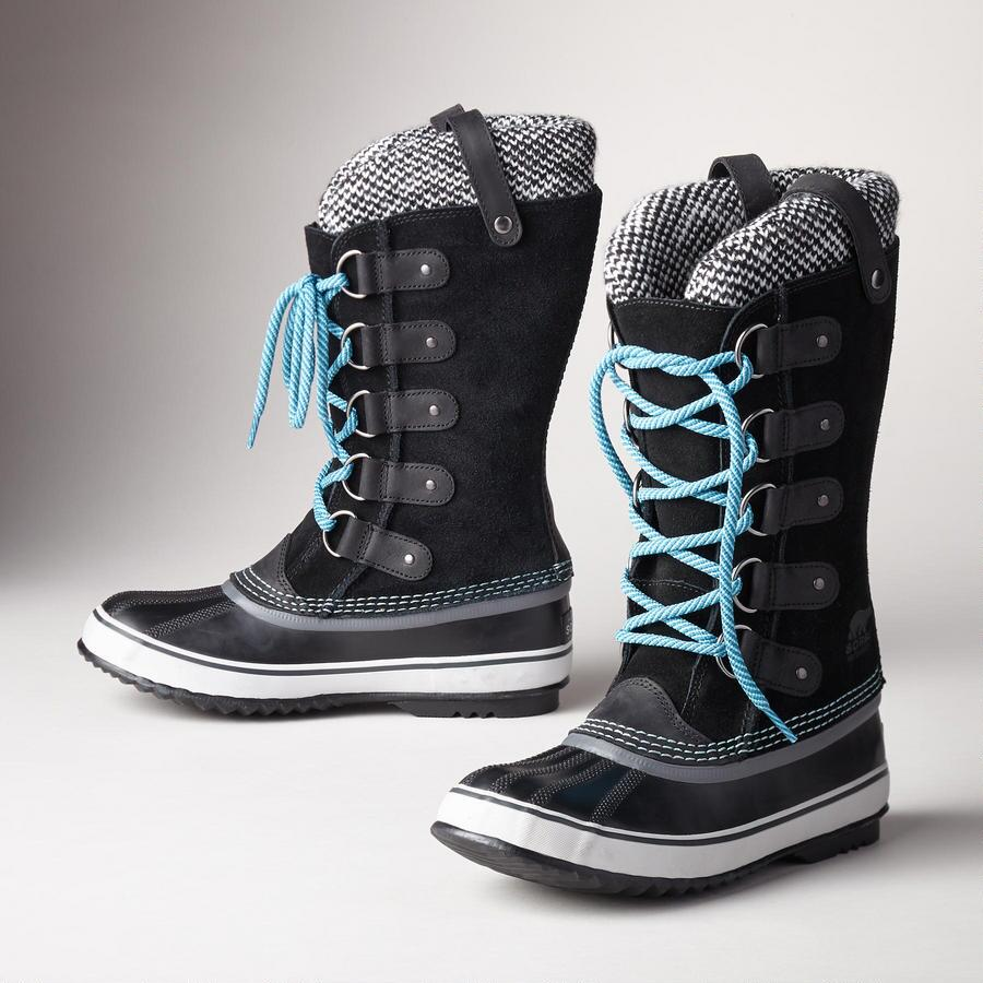 JOAN OF ARCTIC KNIT BOOTS