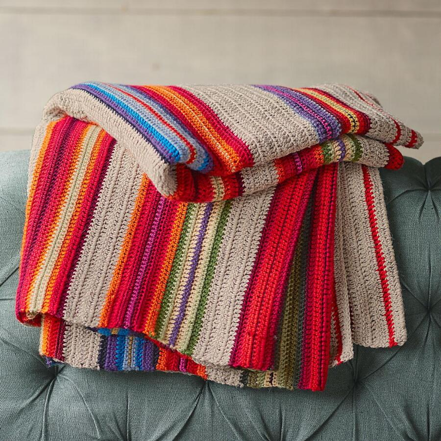 RAINBOW RIDGE THROW
