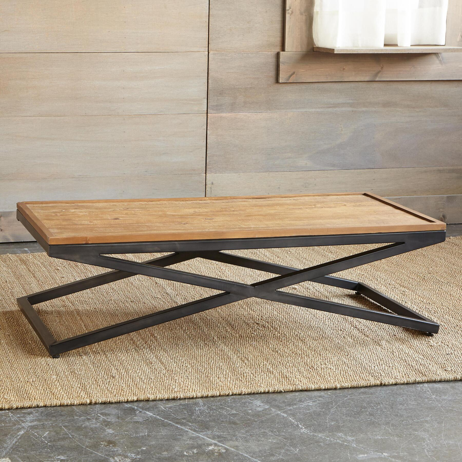 ENTRADA COFFEE TABLE, DOUBLE TRAY: View 2