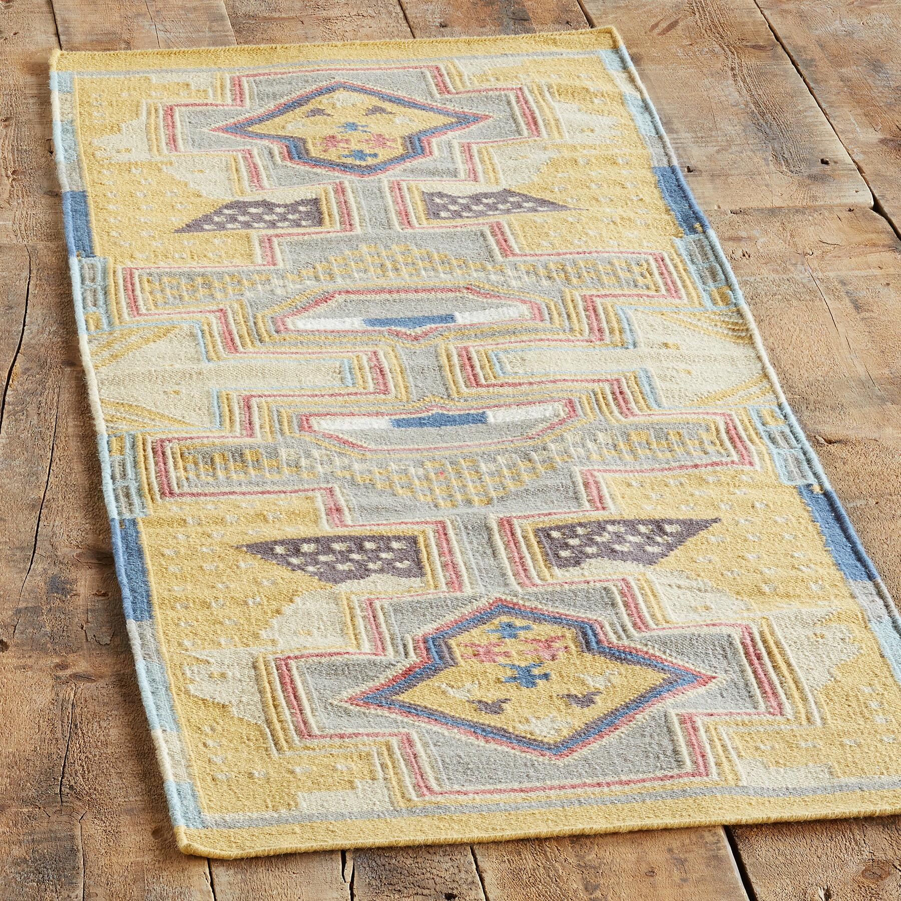 SUN CANYONS DHURRIE RUG: View 3
