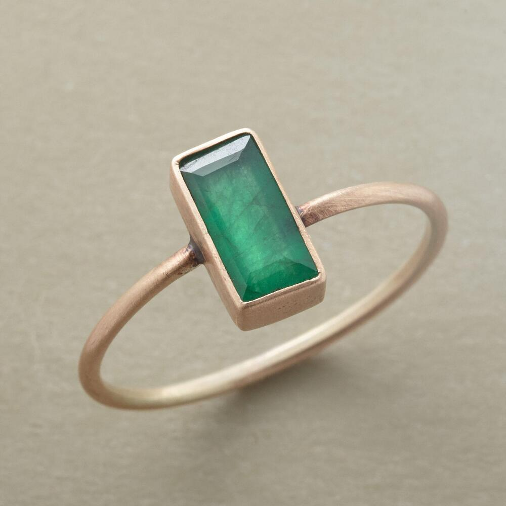 Fantastic Jane Diaz Emerald Baguette Ring | Robert Redford's Sundance Catalog ZM55