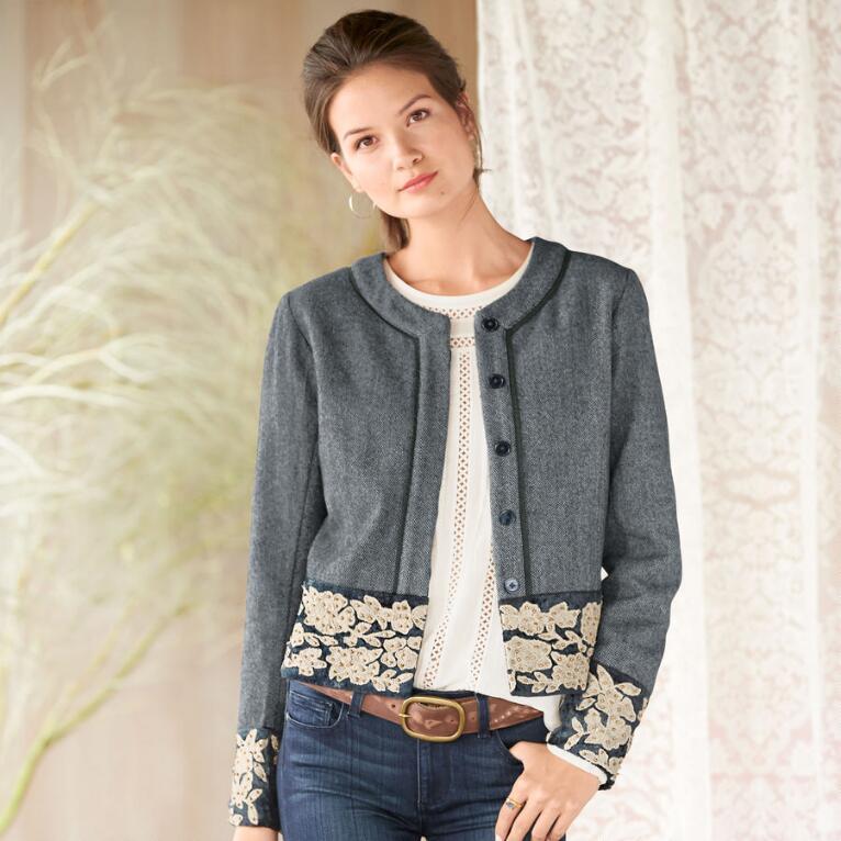 Tweed Opera Jacket