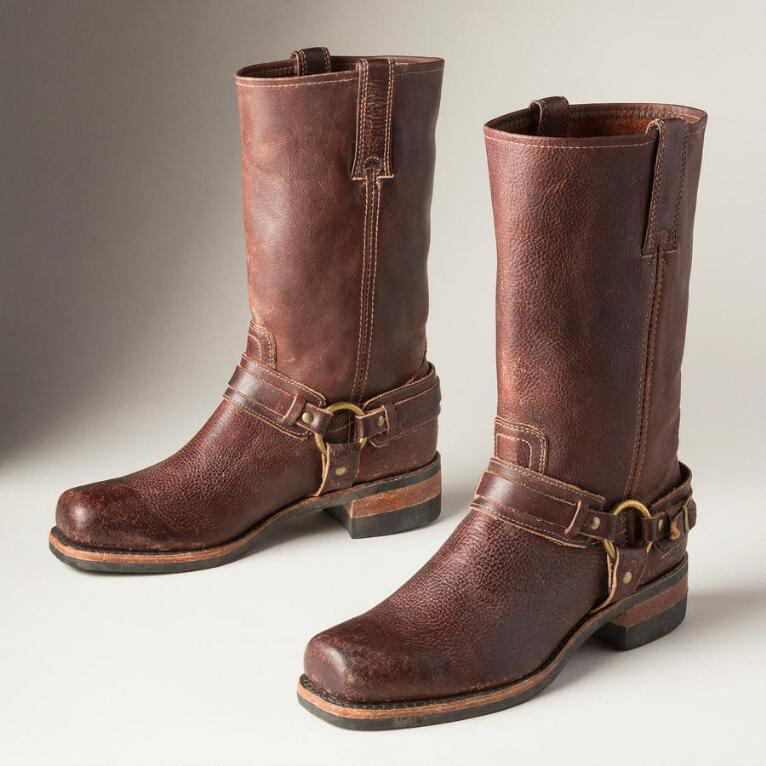 BELTED HARNESS BOOT