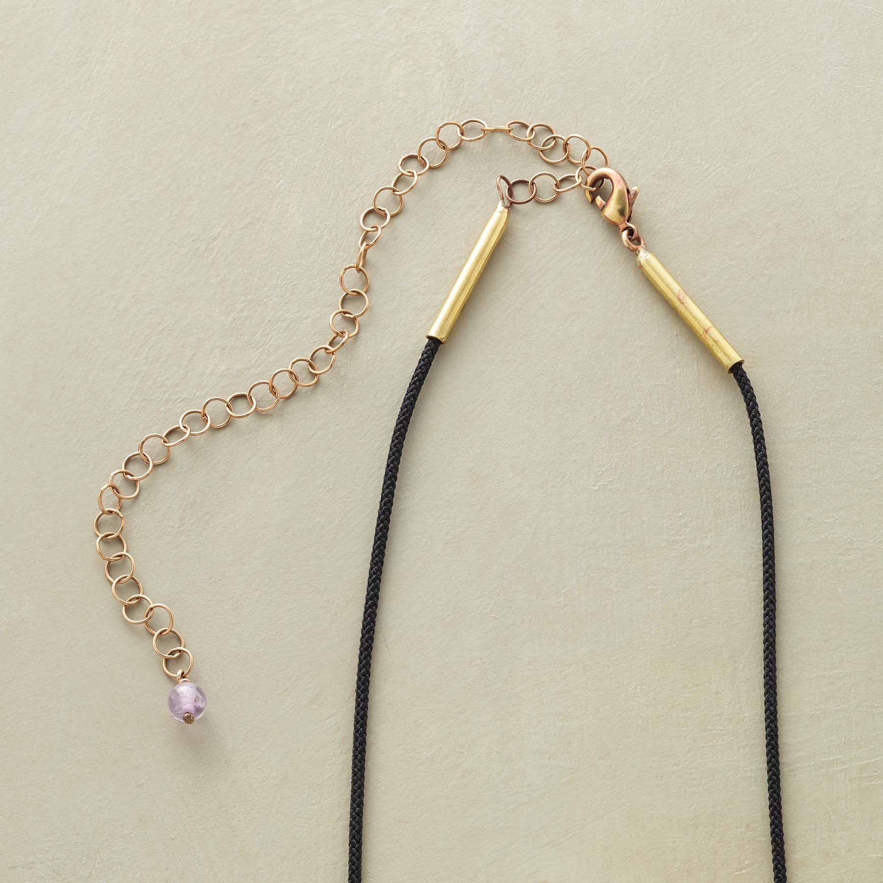 AMETHYST AMULET NECKLACE: View 3