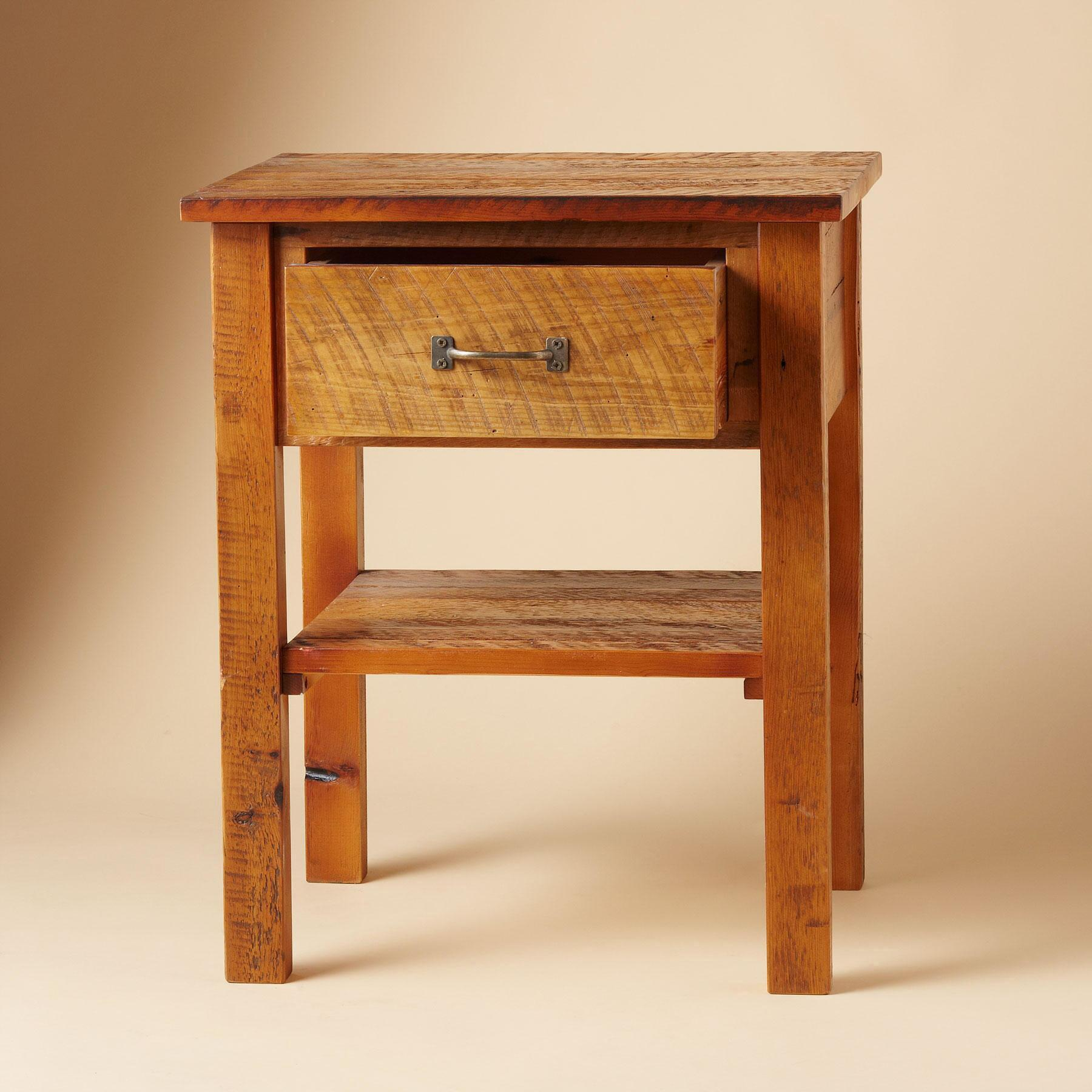ANTIQUED PINE PROVENCE NIGHTSTAND: View 2