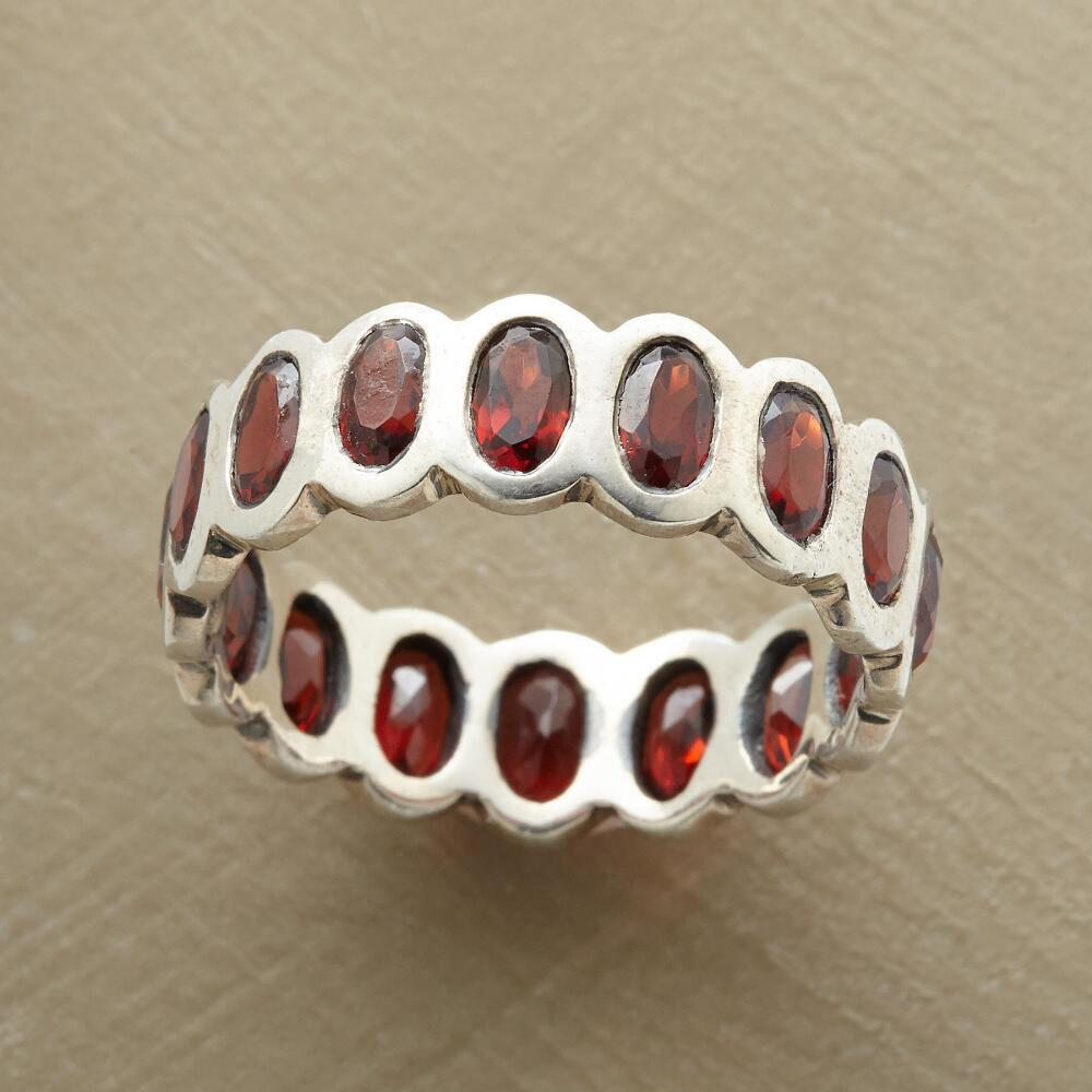 ROWS OF ROSE RING: View 1