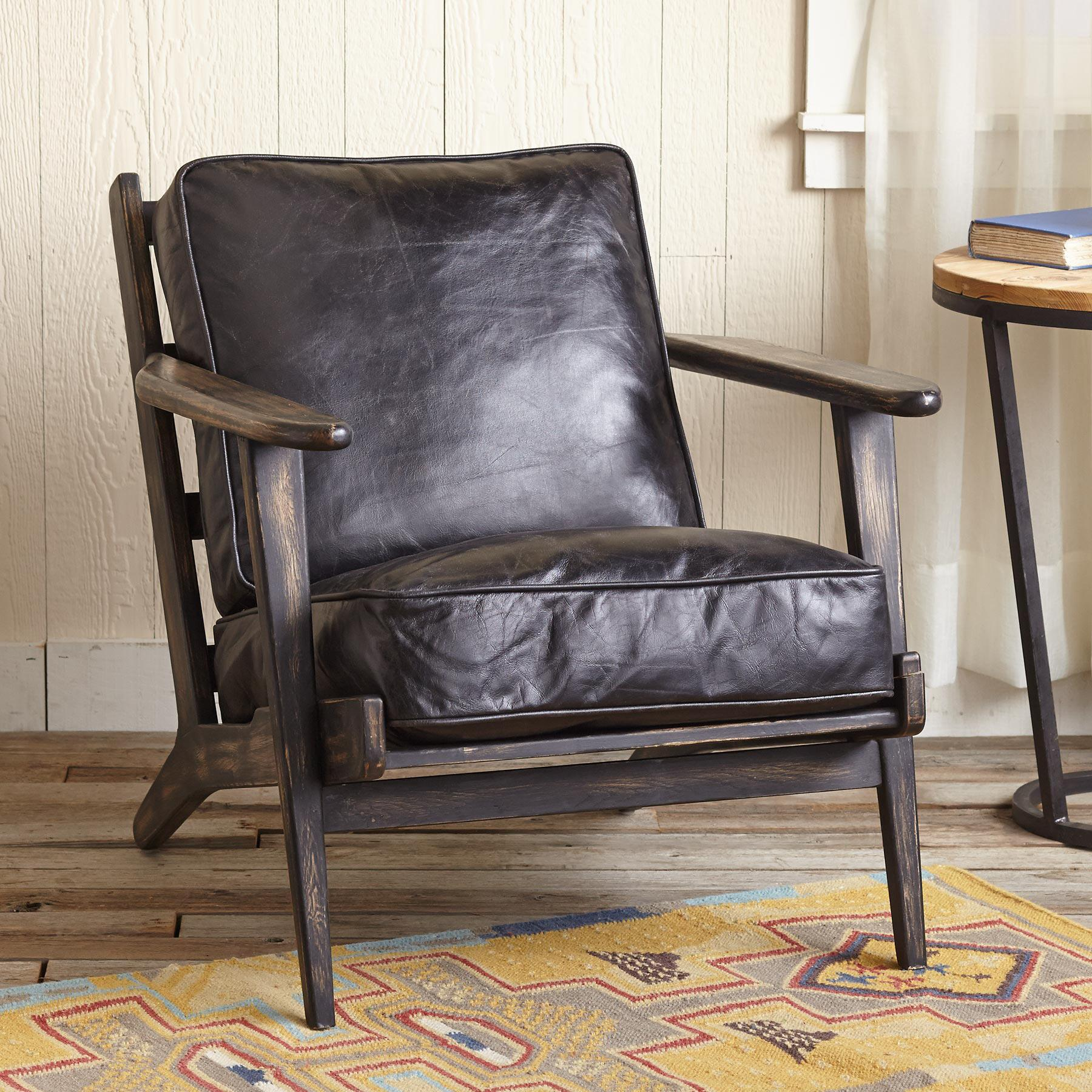 TIMPANOGOS LEATHER CHAIR: View 2