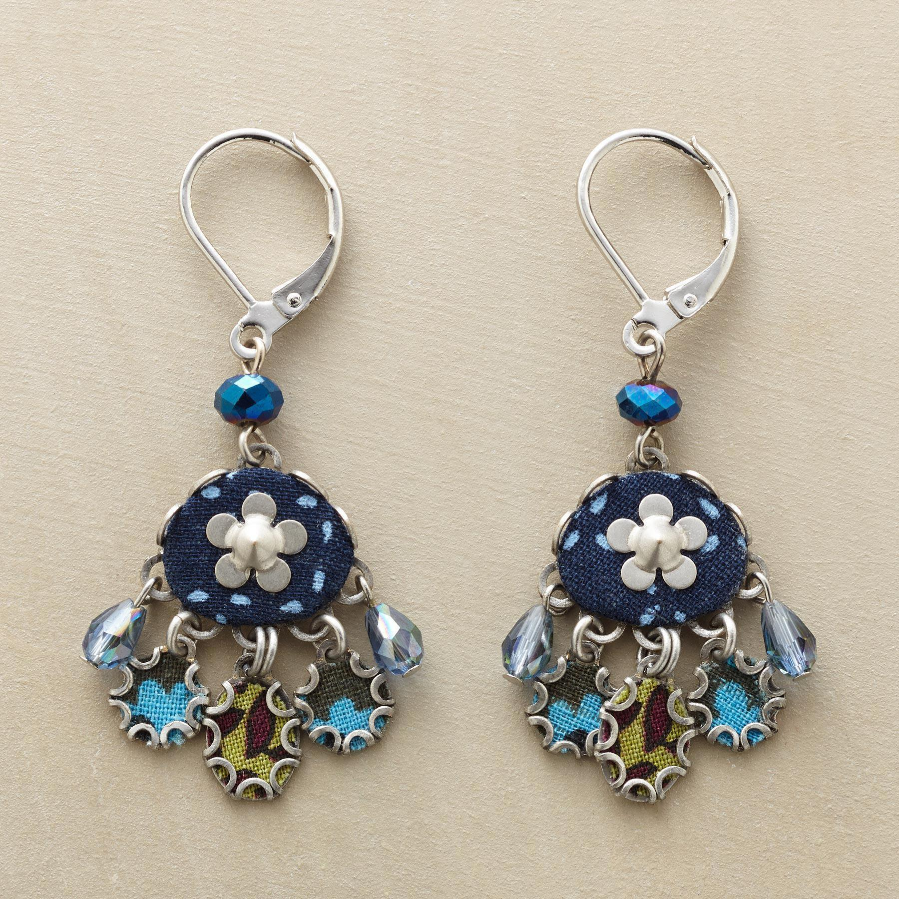WILDFLOWER LAKE EARRINGS: View 1