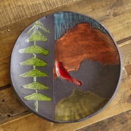 SUNDANCE CERAMICS MOUNTAIN SERVING BOWL
