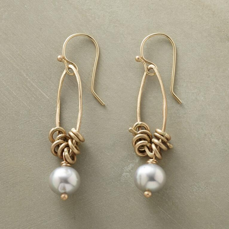 KINETIC PEARL EARRINGS