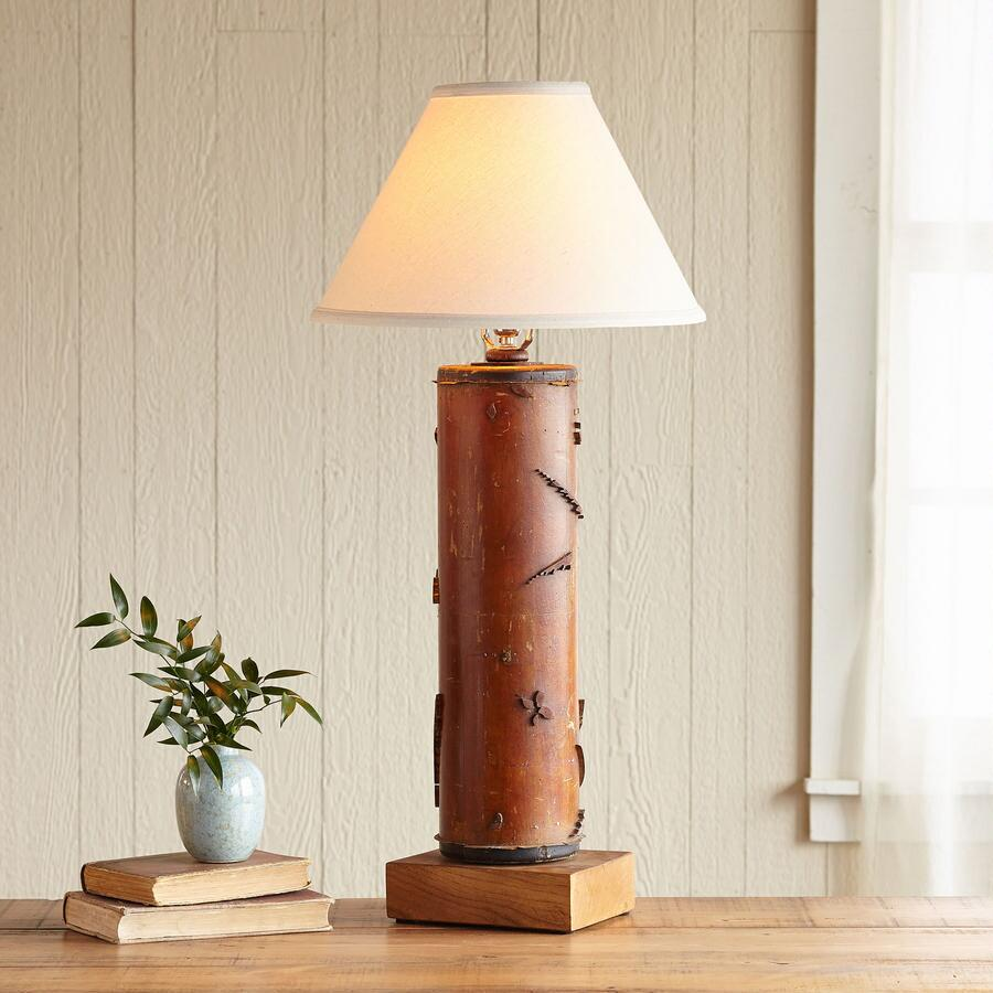 ONE-OF-A-KIND WENTWORTH VINTAGE ROLLER LAMP
