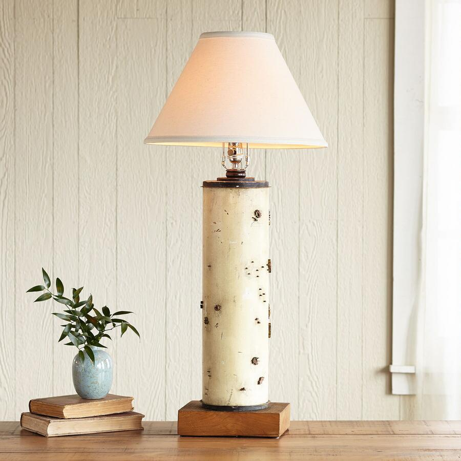 ONE-OF-A-KIND BEAULIEU VINTAGE ROLLER LAMP