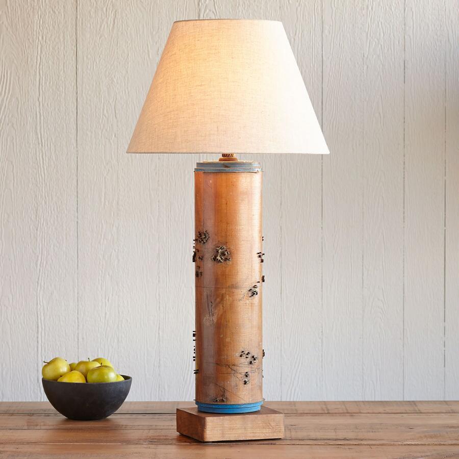 ONE-OF-A-KIND KENSINGTON VINTAGE ROLLER LAMP