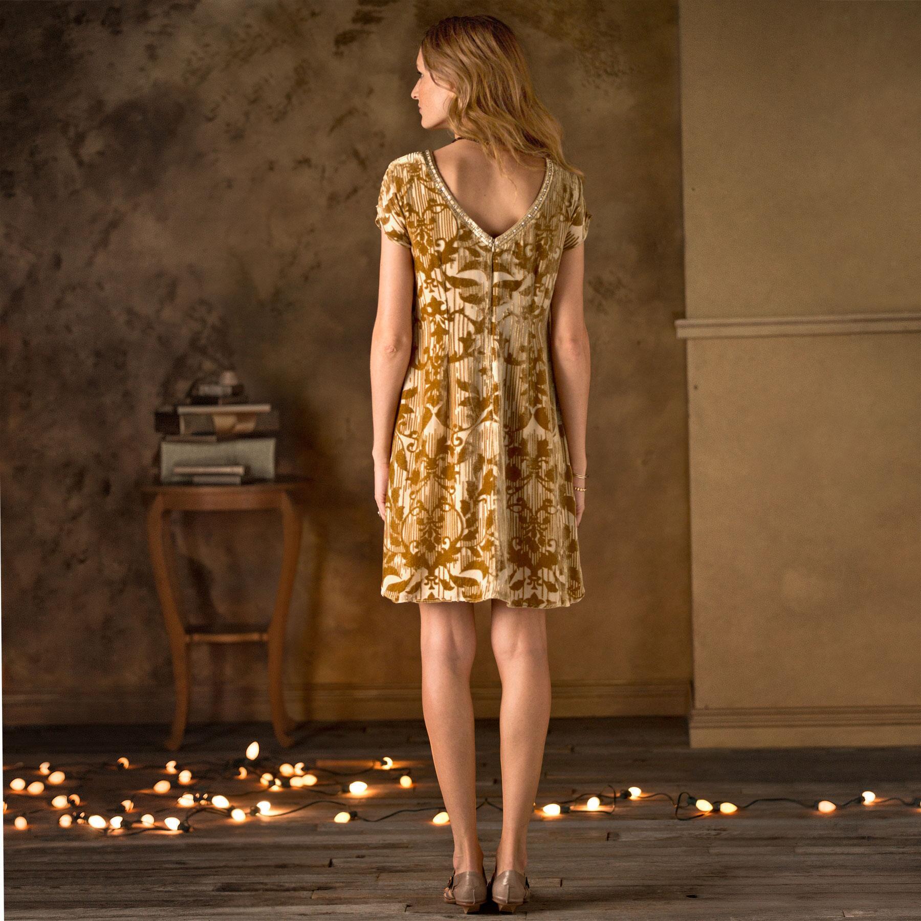 Champagne Vineyard Dress: View 2