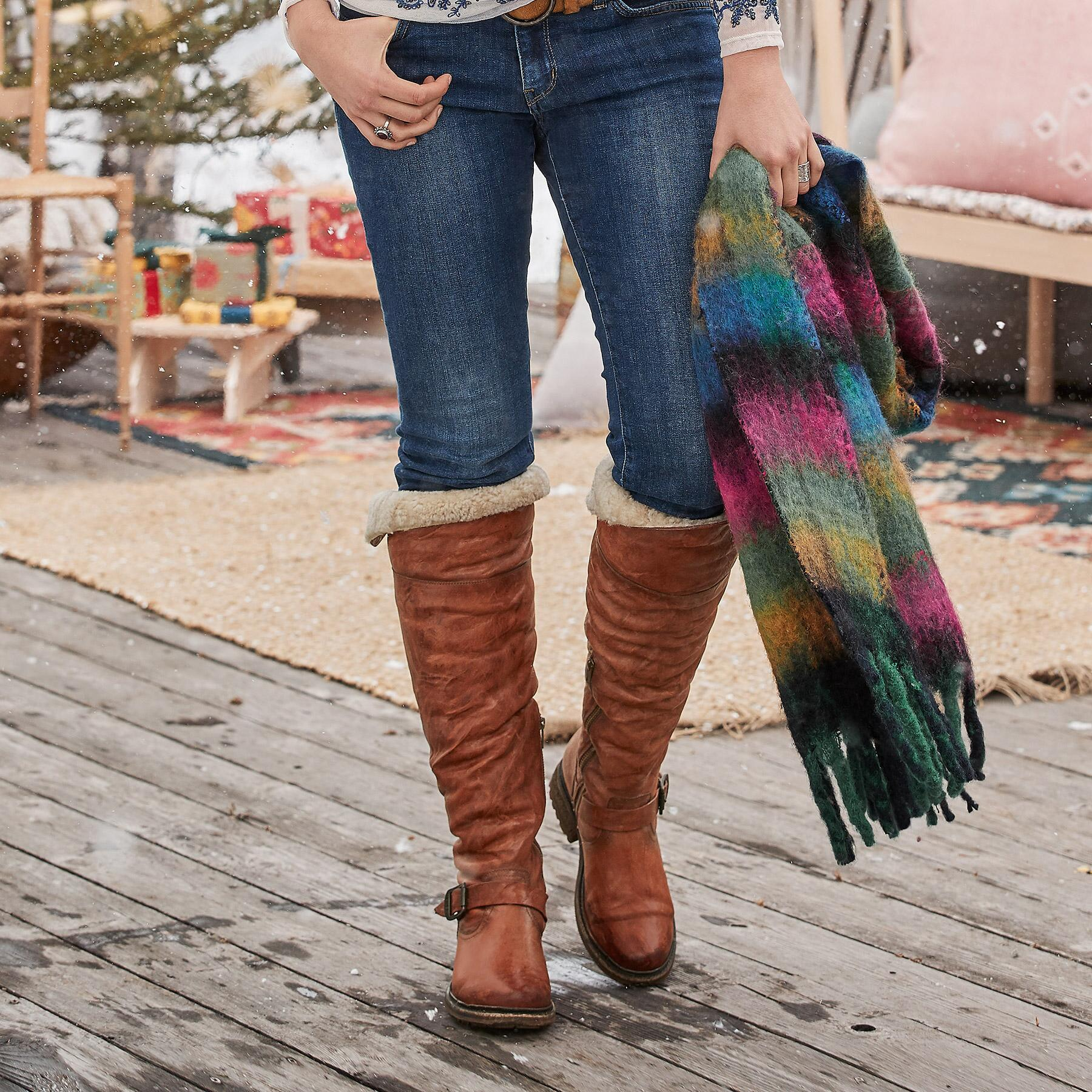 VALERIE SHEARLING BOOTS BY FRYE®: View 2