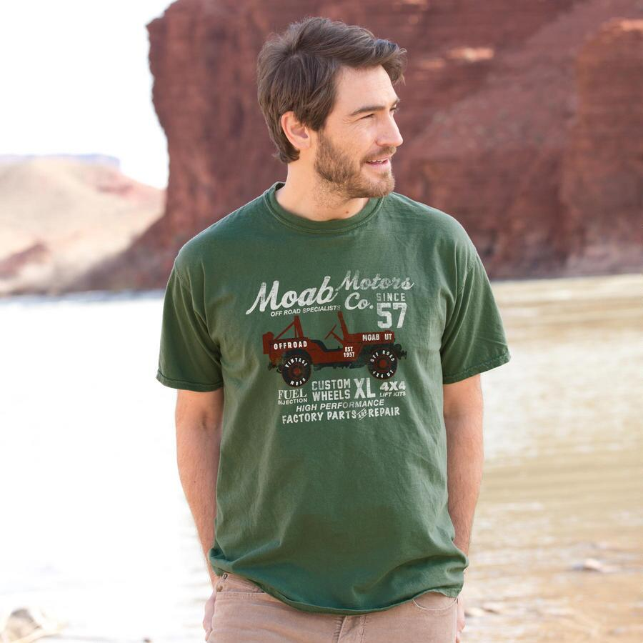 MOAB MOTORS GRAPHIC TEE